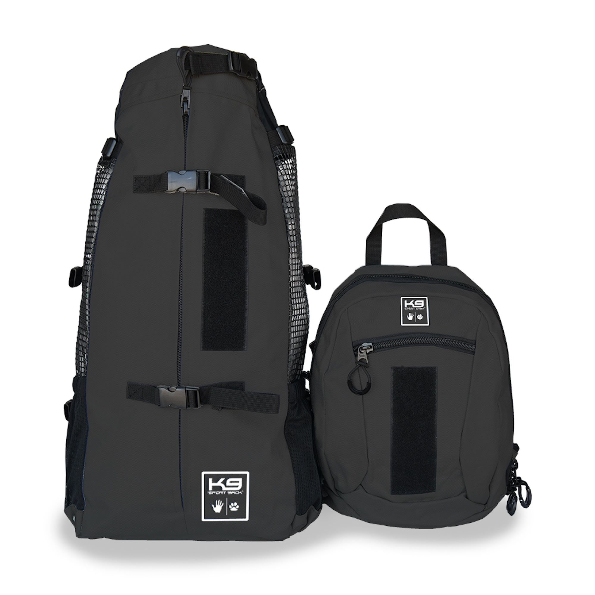 K9 Sport Sack Air Plus Black Backpack Pet Carrier With
