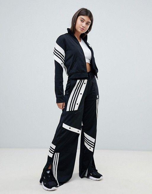 Adidas Originals Slim Retro Track Pants Shell Tile Tracksuit