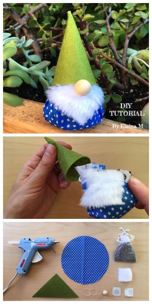 Tutorial Regali Di Natale Fai Da Te.Diy Scented Christmas Gnome Free Sewing Pattern Tutorial Kids Crafts Idee Natale Fai Da Te Idee Di Natale