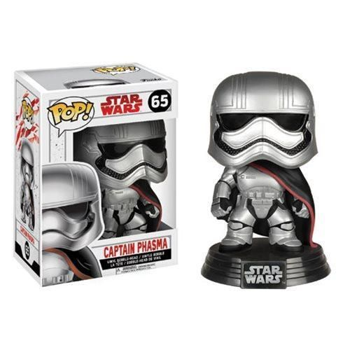 Star Wars: Last Jedi Captain Phasma Pop! Bobble Head #65