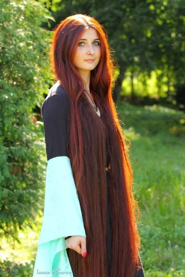 I Love This Hair I Dreamed Of Having Hair Like This Long Red