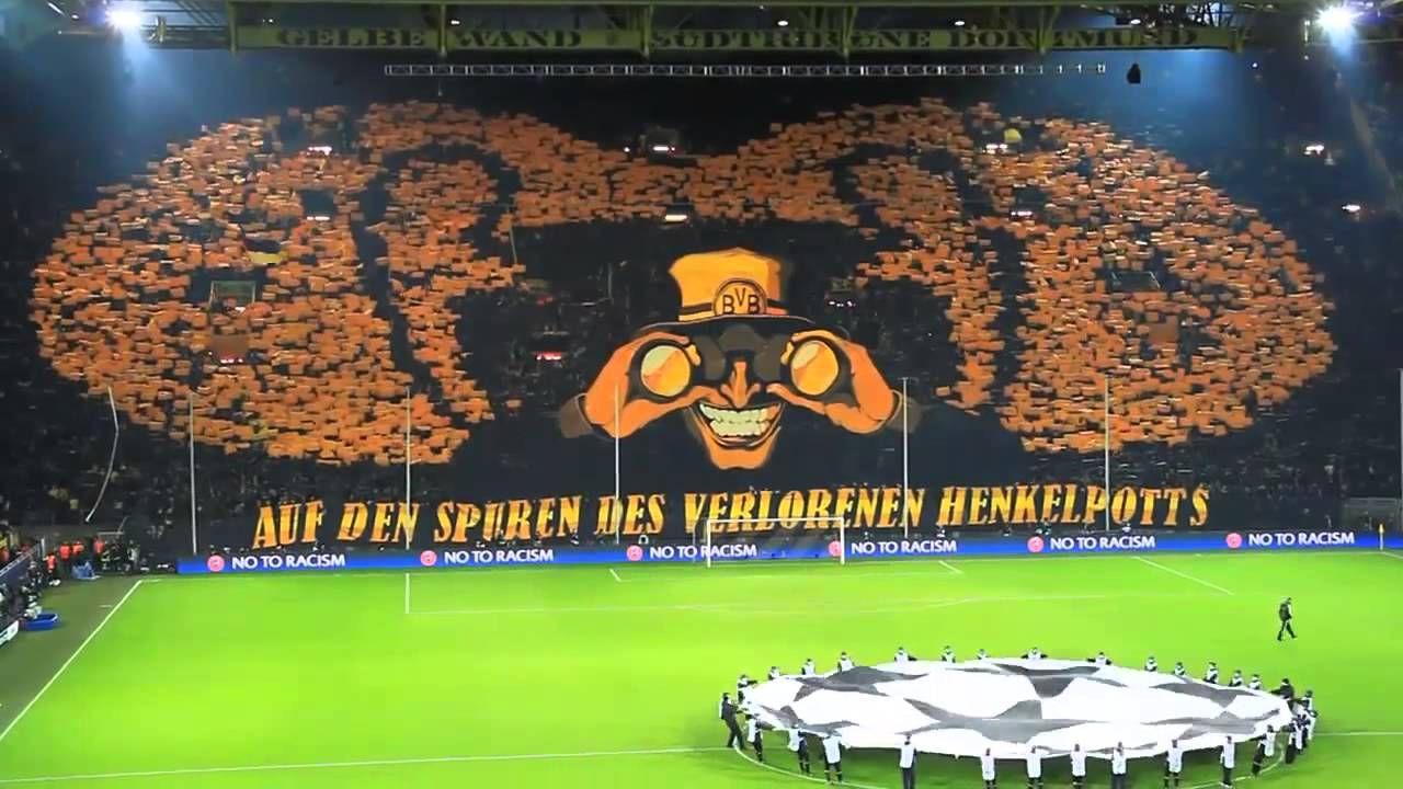 Increible Mosaico Borussia Dortmund Vs Malaga Champions Leag Youtube Football Predictions Dortmund Soccer Pictures