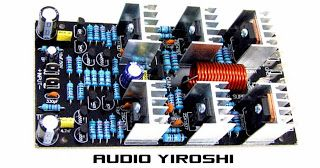Driver power amplifier yiroshi new version