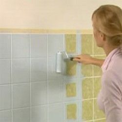 How to paint bathroom tiles Diy Lifestyle diy home decor
