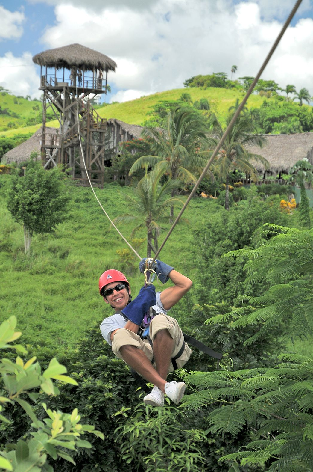 Zip Line Adventures Excursion Punta Cana 12 Lines 16 Platforms Bavaro Dr Punta Cana Excursions Punta Cana Vacation Time