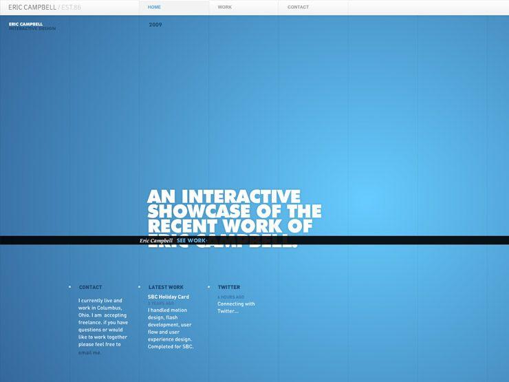 31 Of The Best Blue Websites Around Blue Website Web Design Blue
