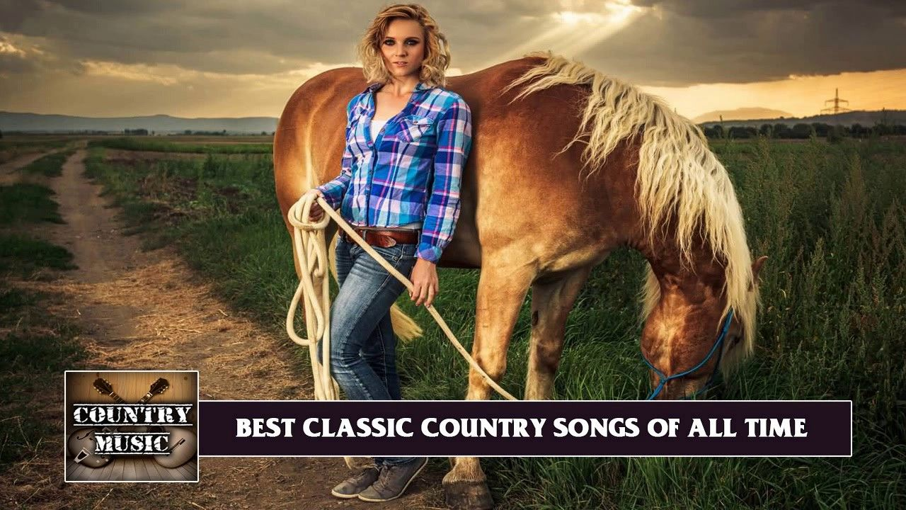Old Classic Country Songs♪ღ♫Great Country Classics 70s 80s 90s ...
