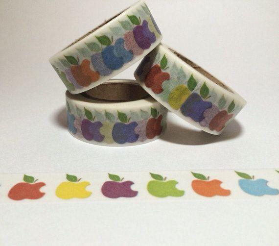 Color Apple Washi Tape