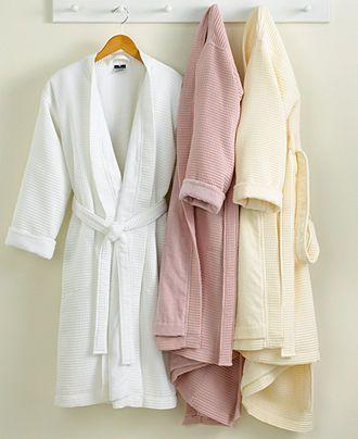 Hotel Collection Robe Waffle Pique Bath Robe Bath Robes