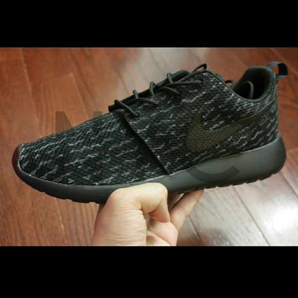 Black · Pirate Black 350 Boost Yeezy Nike Roshe Run Custom ...