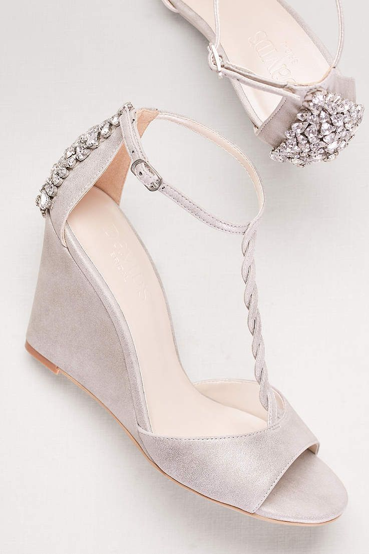 e0ed39d344980 Our affordable selection of shoes under  100 come in all sizes and colors.  Shop today to save! Browse David s Bridal collection ...