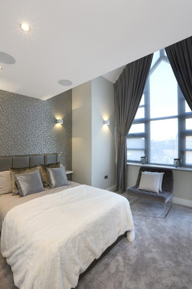 30+Dashing Bedroom Curtain Ideas | Master bedroom curtains ... on Master Bedroom Curtain Ideas  id=98445