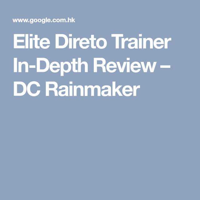 Elite Direto Trainer In Depth Review Trainers