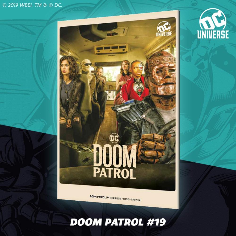 Doom Patrol Doom Patrol Comic Book Cover Comic Books