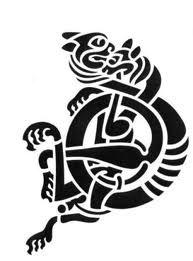 5bb418326 Celtic tiger Nordic Tattoo, Viking Tattoos, Tattoo Illustration, Celtic  Designs, Picts,