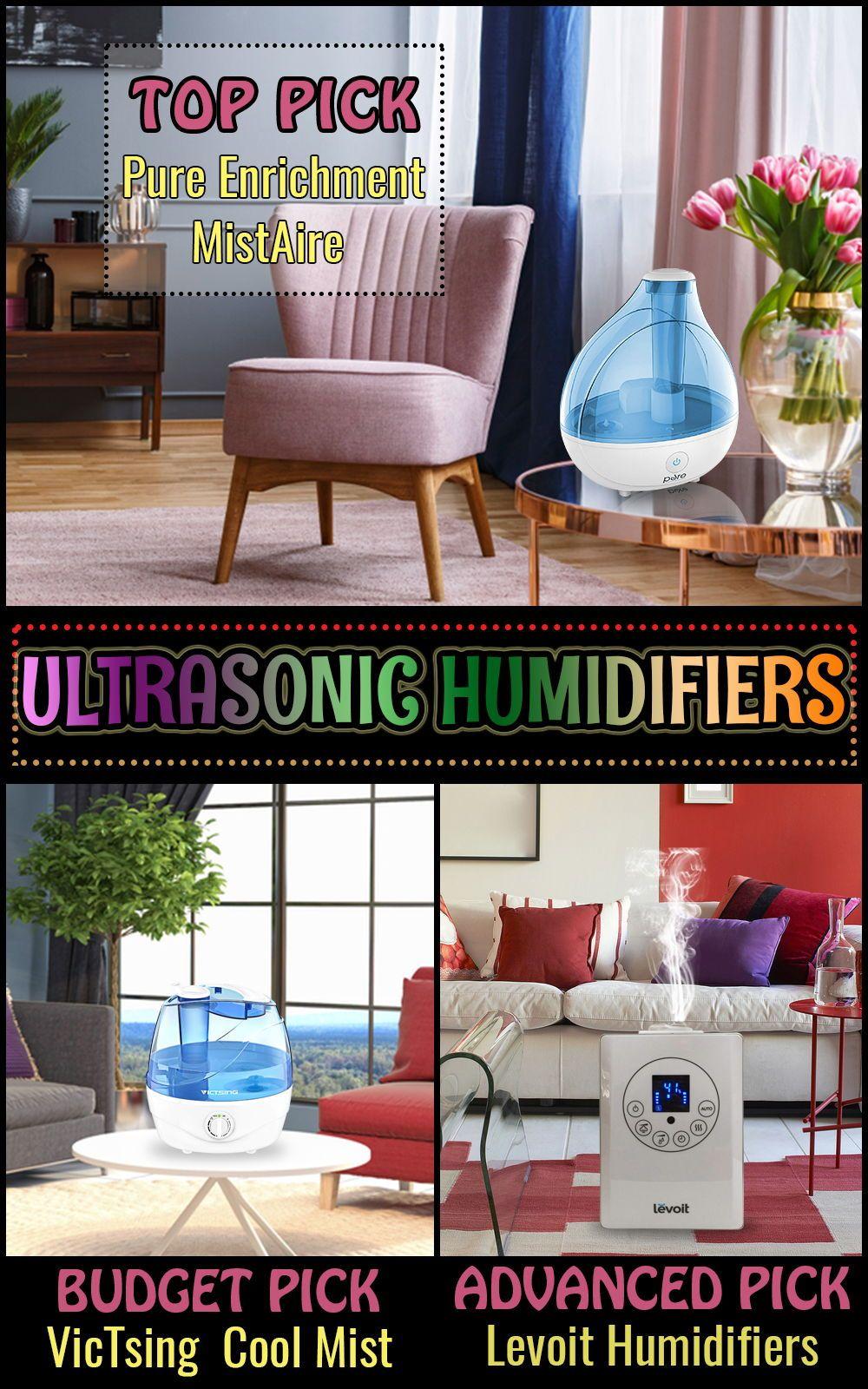 Top 10 Ultrasonic Humidifiers (Dec. 2019) Reviews