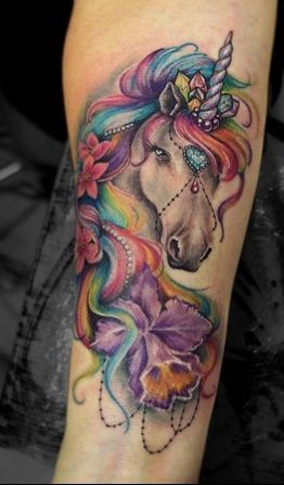 Pin By Vicki Heston On Tattoos To Get Tattoos Unicorn Tattoos Unicorn Tattoo Designs