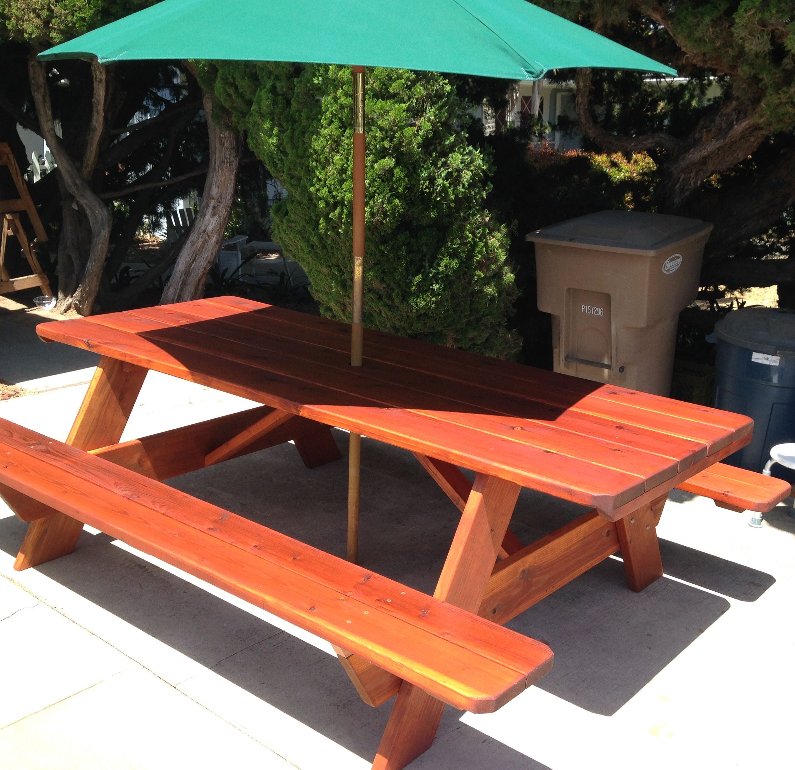 This Is A 8 Foot Picnic Table I Made For My Daughter Plans From Old House