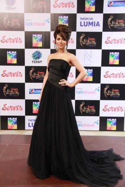 Strapless Dress By Pakistani Designer Sania Maskatiya