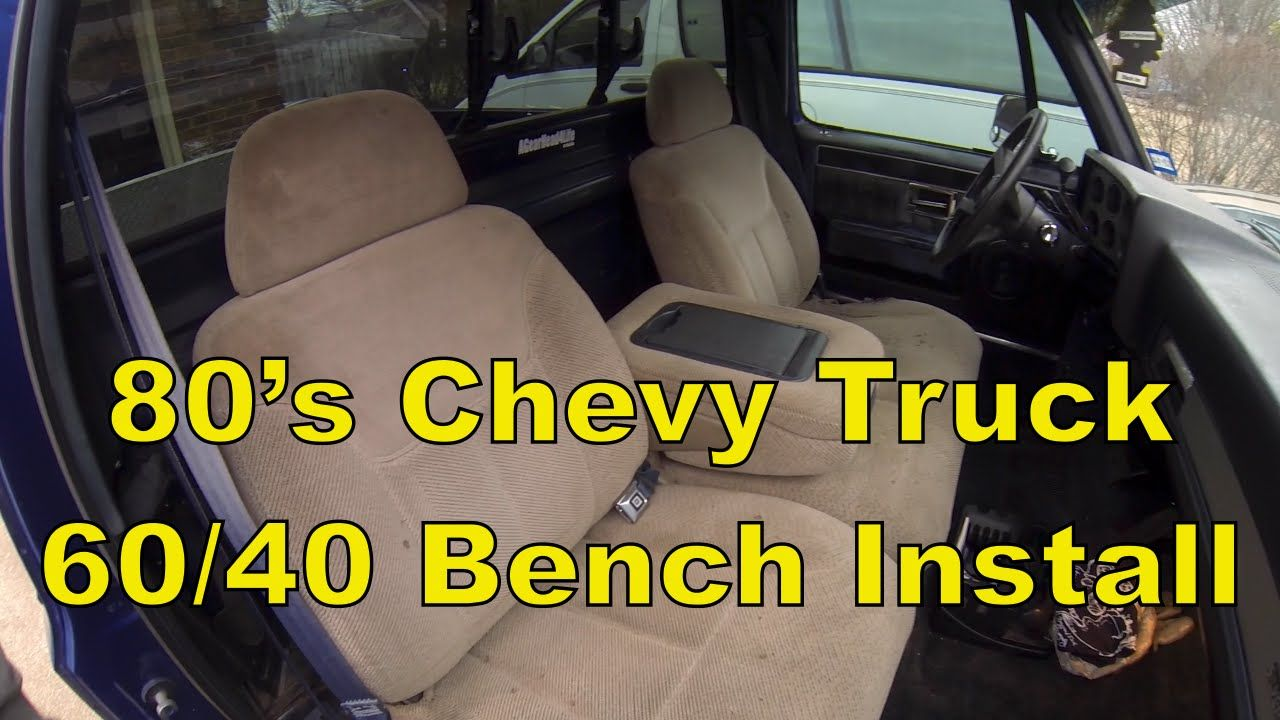 Strange How To Install A Split Bench Seat In A C10 Chevy Truck 73 87 Beatyapartments Chair Design Images Beatyapartmentscom
