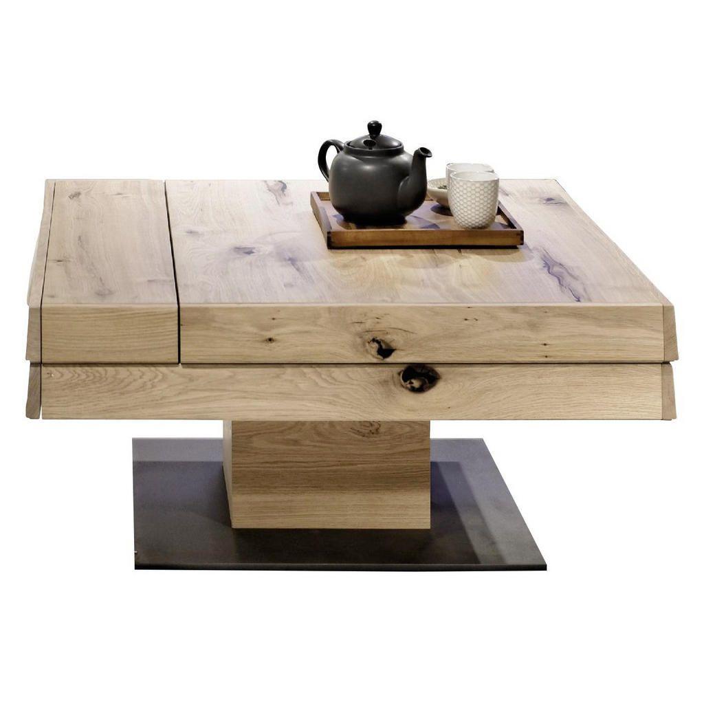 Voglauer Couchtisch Wildeiche Furniert Massiv Mehrschichtige Massivholzplatte Tischlerplatte Braun Couchtisch Wildeiche Couchtisch Quadratisch Couchtische