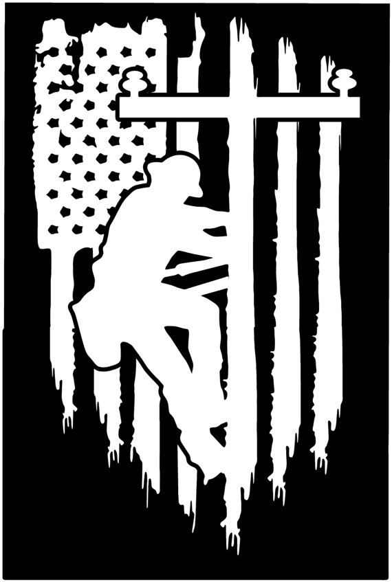 e8237f741e American flag Lineman Lineworker Pole Technician vinyl die cut sticker  decal Pledge of Allegiance di