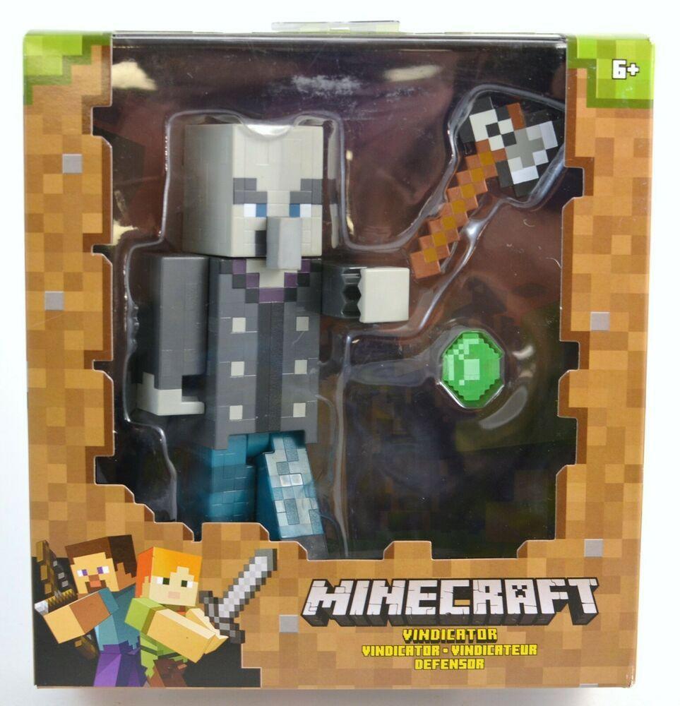Minecraft Vindicator Figure 12 MOC #minecraft #playing #game