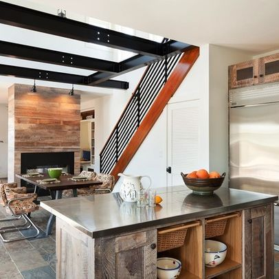 Contemporary Kitchen Photos Rustic Design Ideas, Pictures, Remodel, and Decor