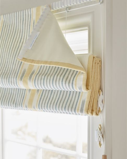 Made To Measure Fabric Roman Blinds Vanessa Arbuthnott In