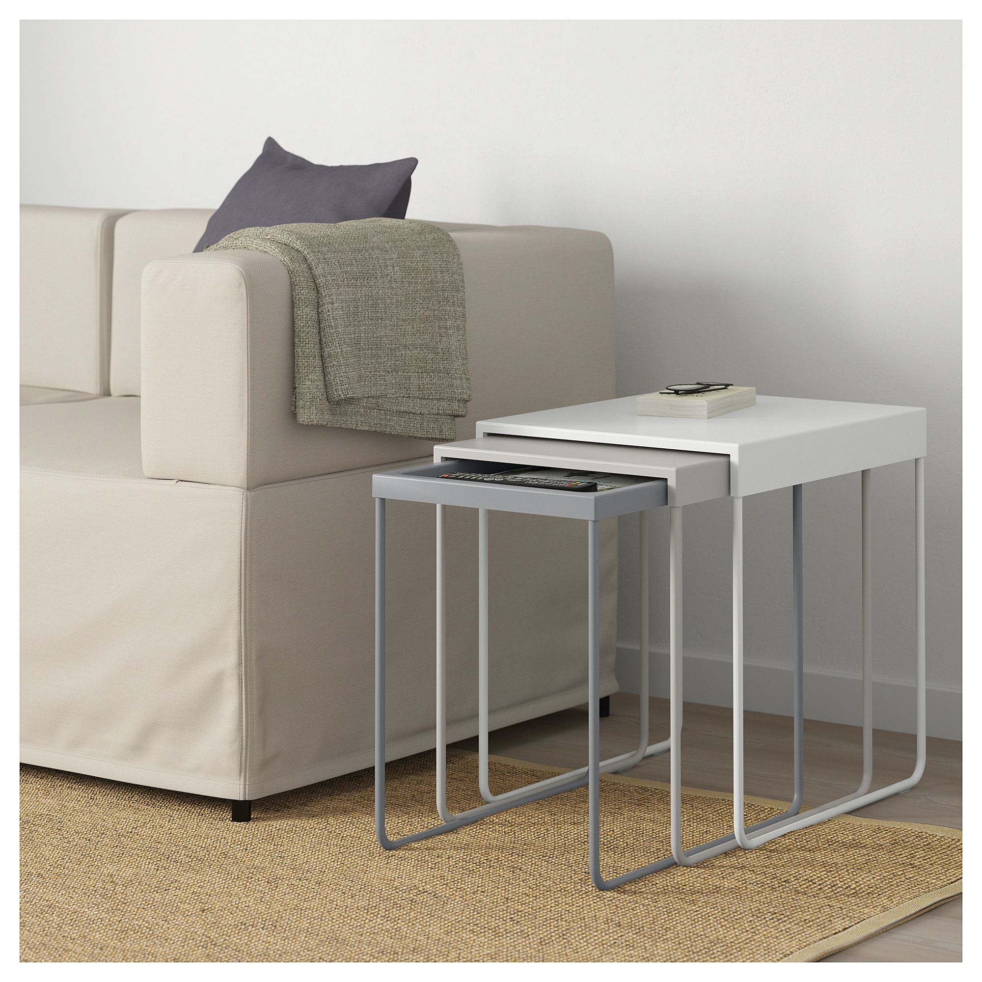 Granboda Nesting Tables Set Of 3 Nesting Tables Storage Spaces Home Accessories