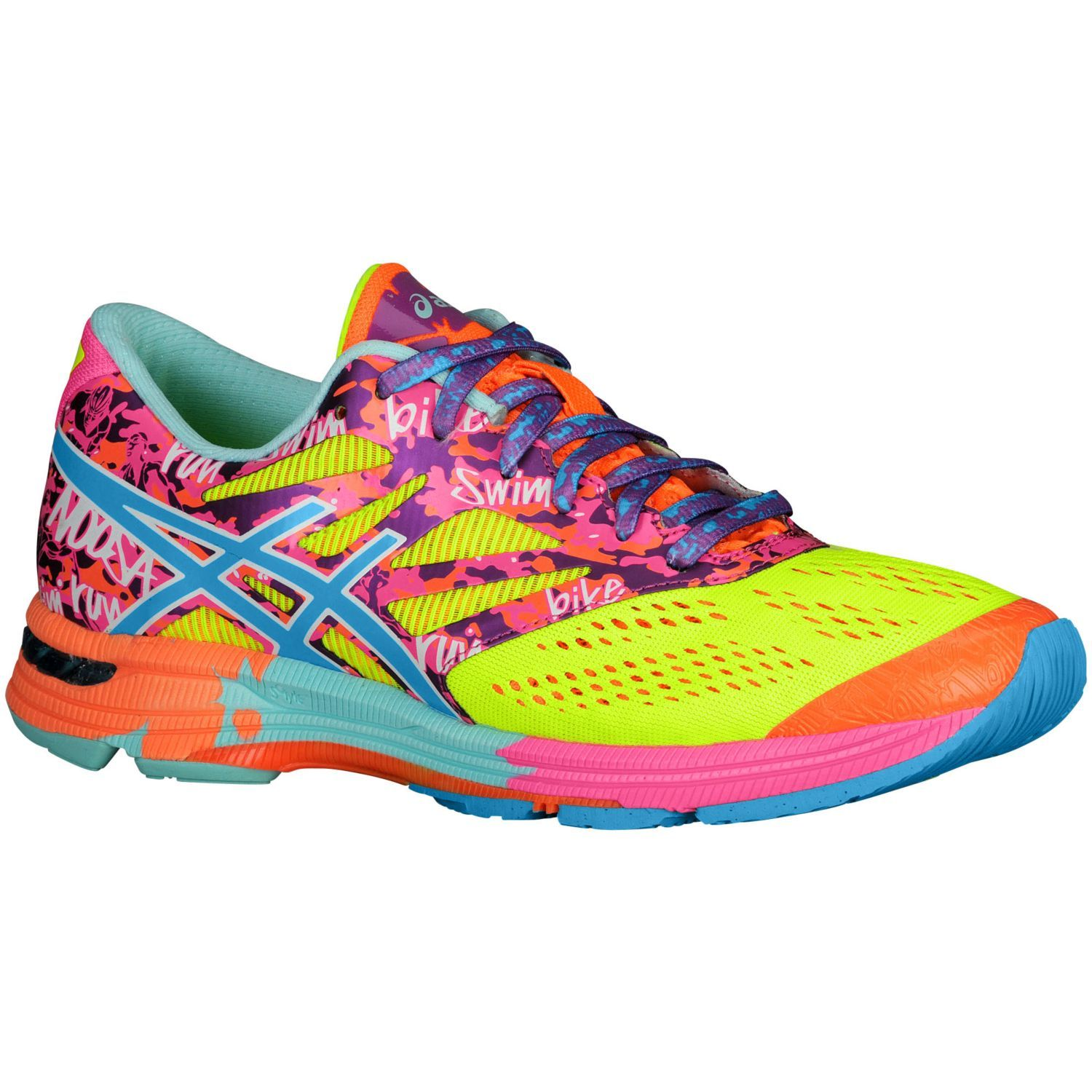1e7beda702 ASICS® GEL-Noosa Tri 10 - Women s - Running - Shoes - Flash  Yellow Turquoise Flash Pink