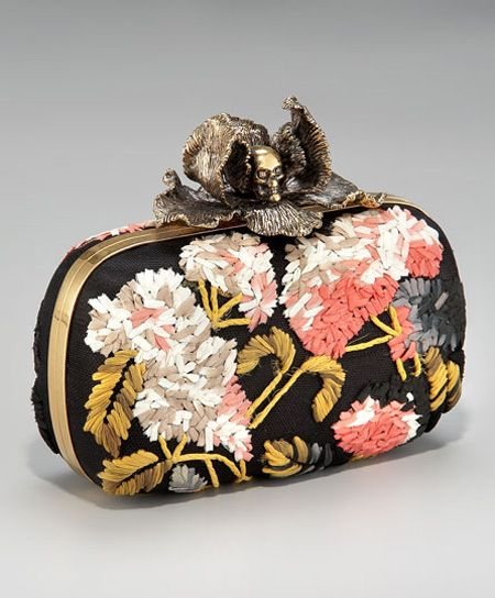 Image from http://www.viecouture.com/wp-content/uploads/2011/04/alexander-mcqueen-embroidered-clutch.jpg.
