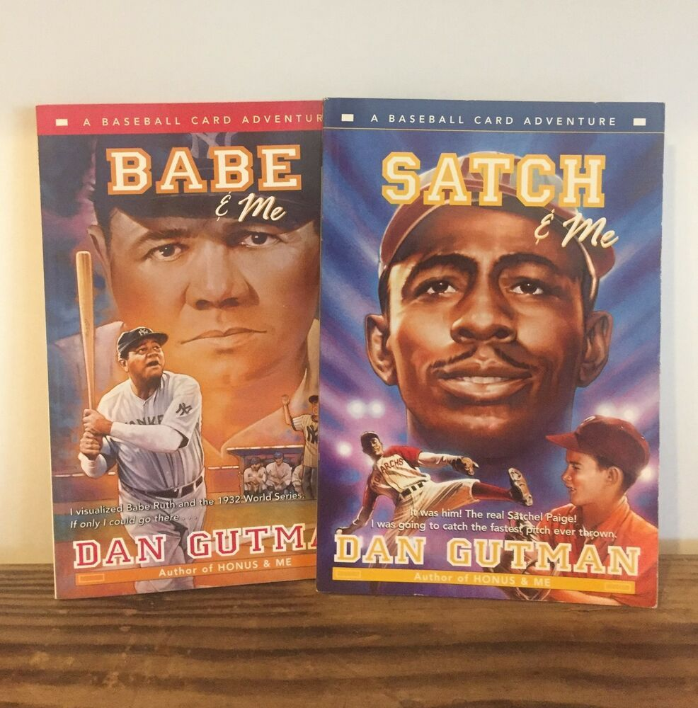 Baseball Card Adventures Babe And Me Satch Me By Dan Gutman 2
