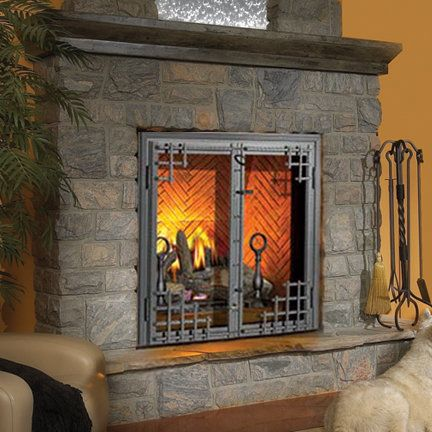 000 BTU Direct Vent Zero Clearance Natural Gas Fireplace at Build.com. | fireplaces | Pinterest | Natural gas fireplace…