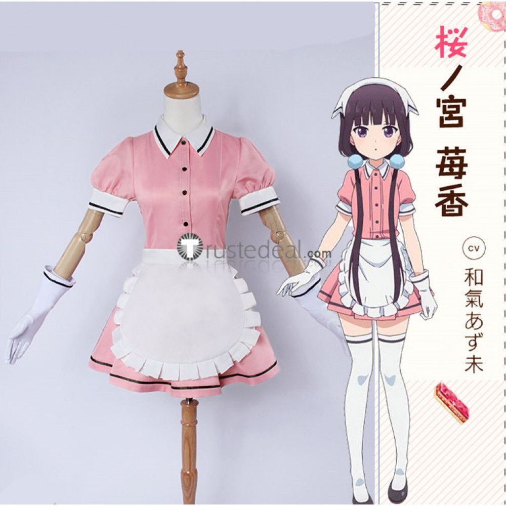 Cute waitress maid cosplay costumes $39.99 for your Blend S cosplay show //  sc 1 st  Pinterest & Cute waitress maid cosplay costumes $39.99 for your Blend S cosplay ...
