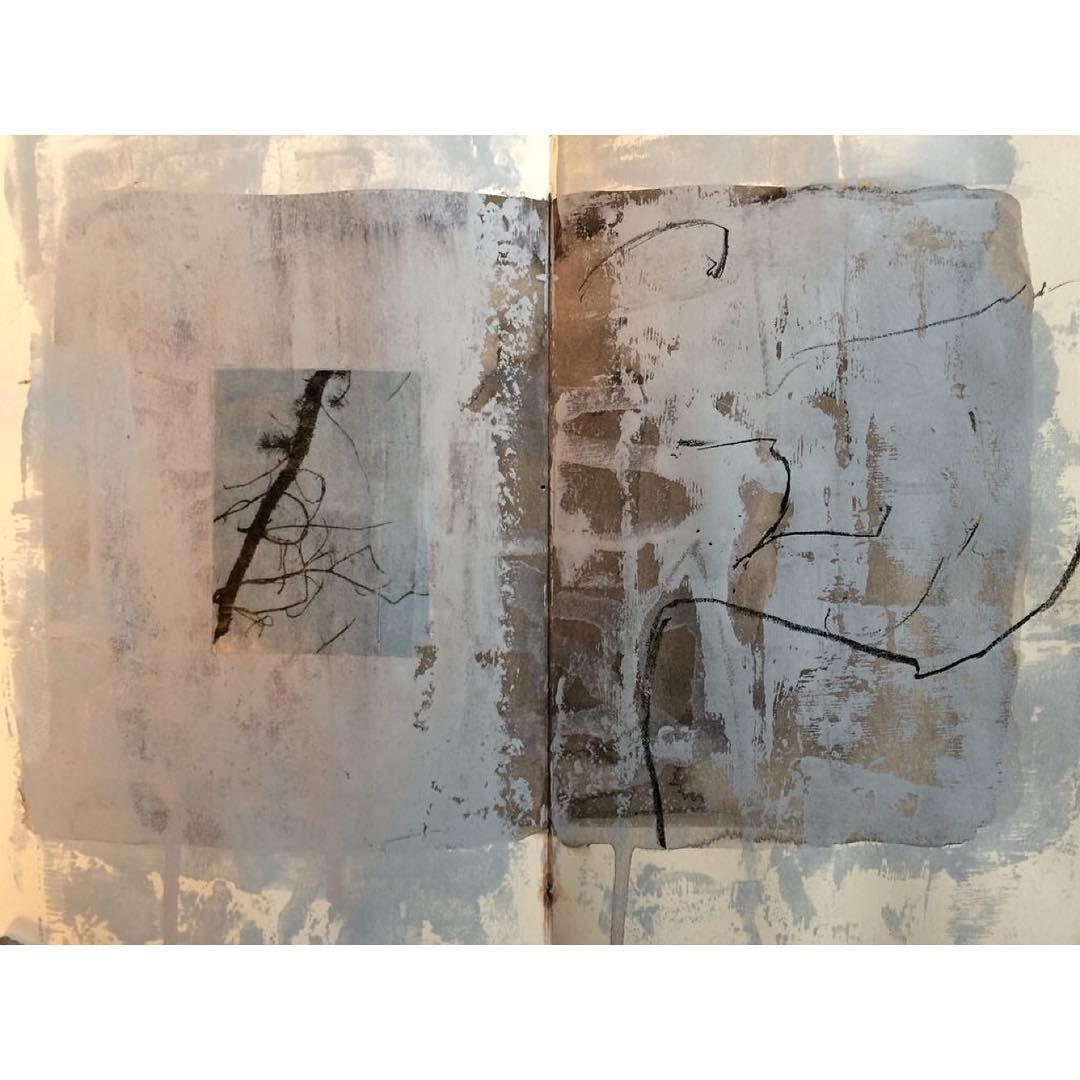 jane Cornwell #sketchbook #collage #photo transfer