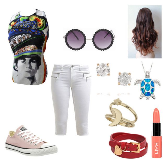 Elton John Concert Outfit by moiraine01 on Polyvore featuring polyvore, fashion, style, Versace