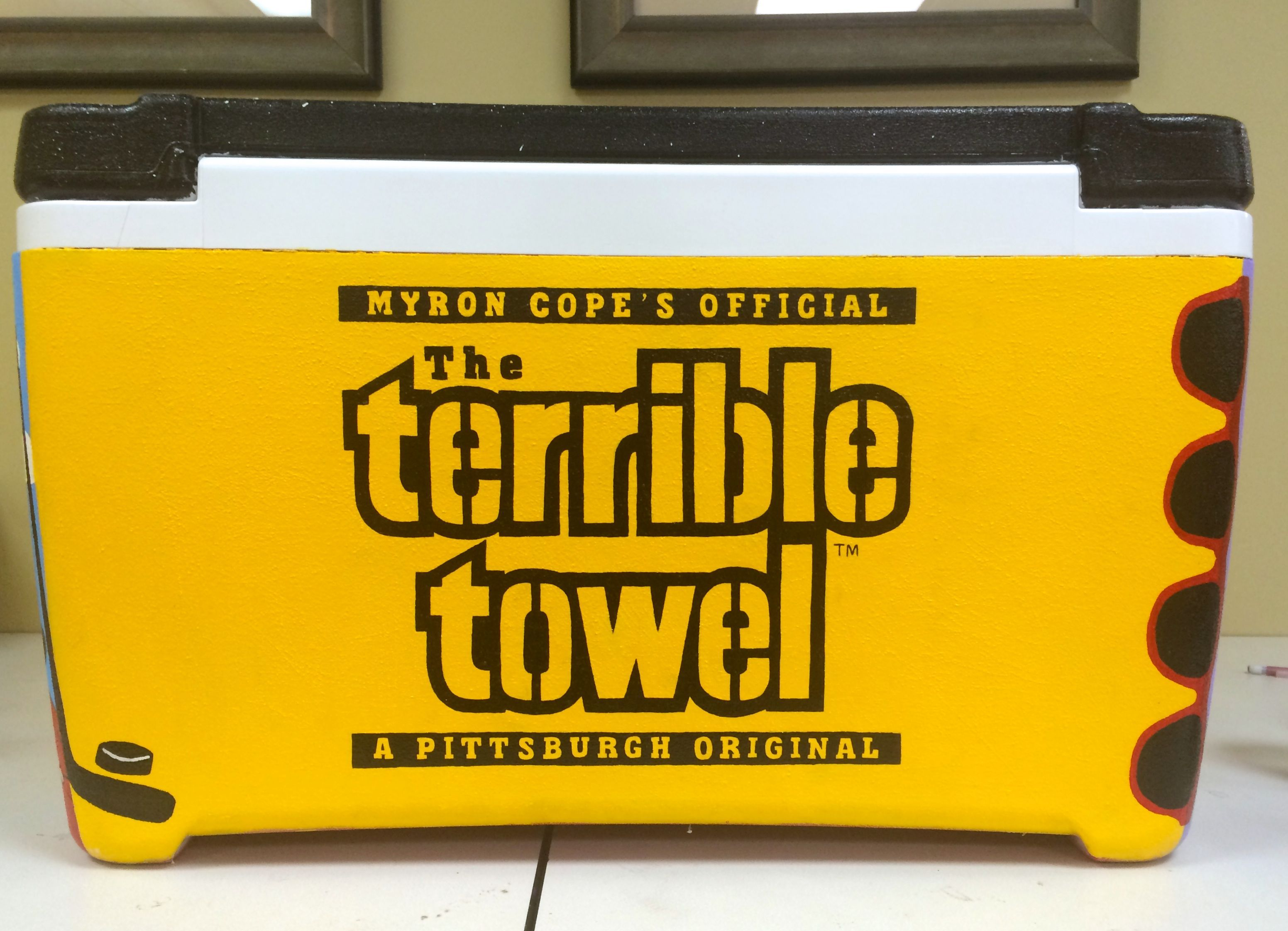 Pittsburgh Steelers cooler side | My Creations | Pinterest ...
