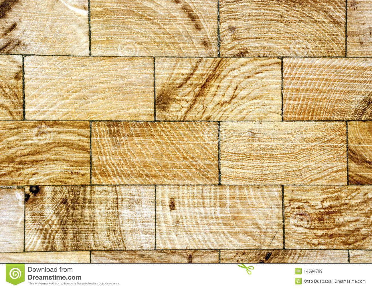 end grain wood floor layout patterns | Royalty Free Stock Images: Wood floor  with end - End Grain Wood Floor Layout Patterns Royalty Free Stock Images