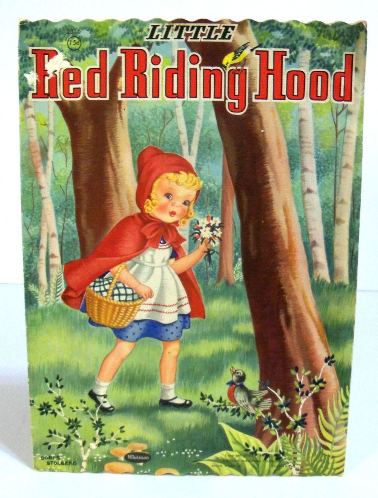red riding hood book pdf