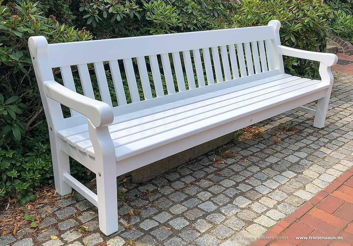 Gartenbank Windsor 4 Sitzer Lackiert Outdoor Decor Outdoor
