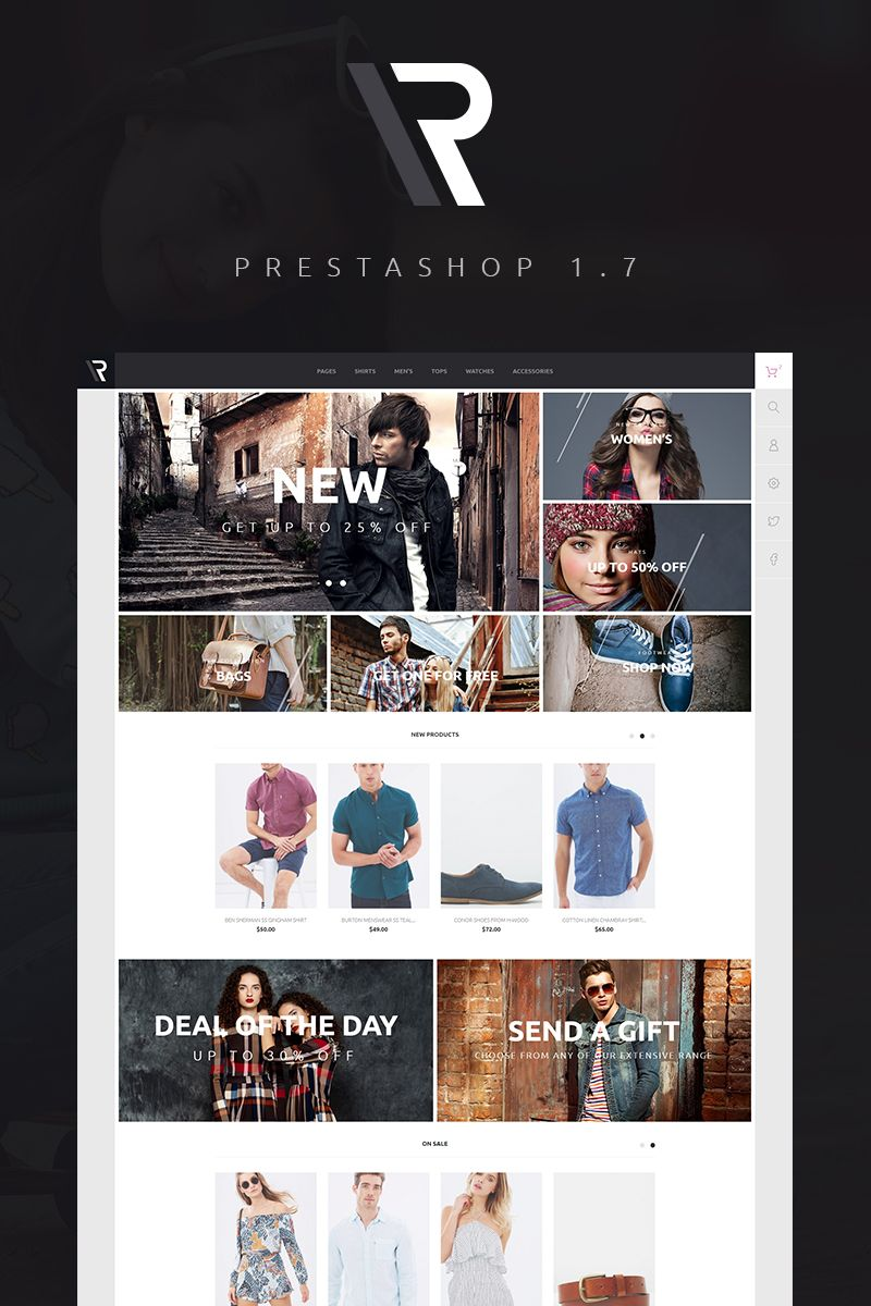 Appario PrestaShop Theme Big Screenshot