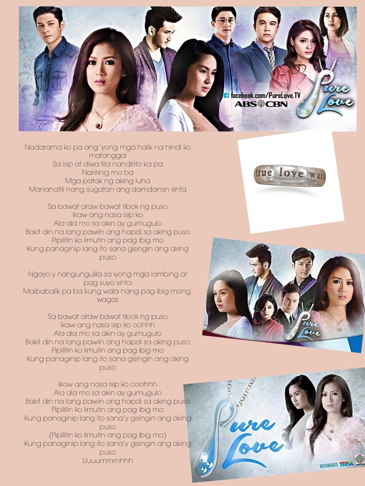 One Of My Fave Pinoy Novels Pure Love Novels Songs Lyrics