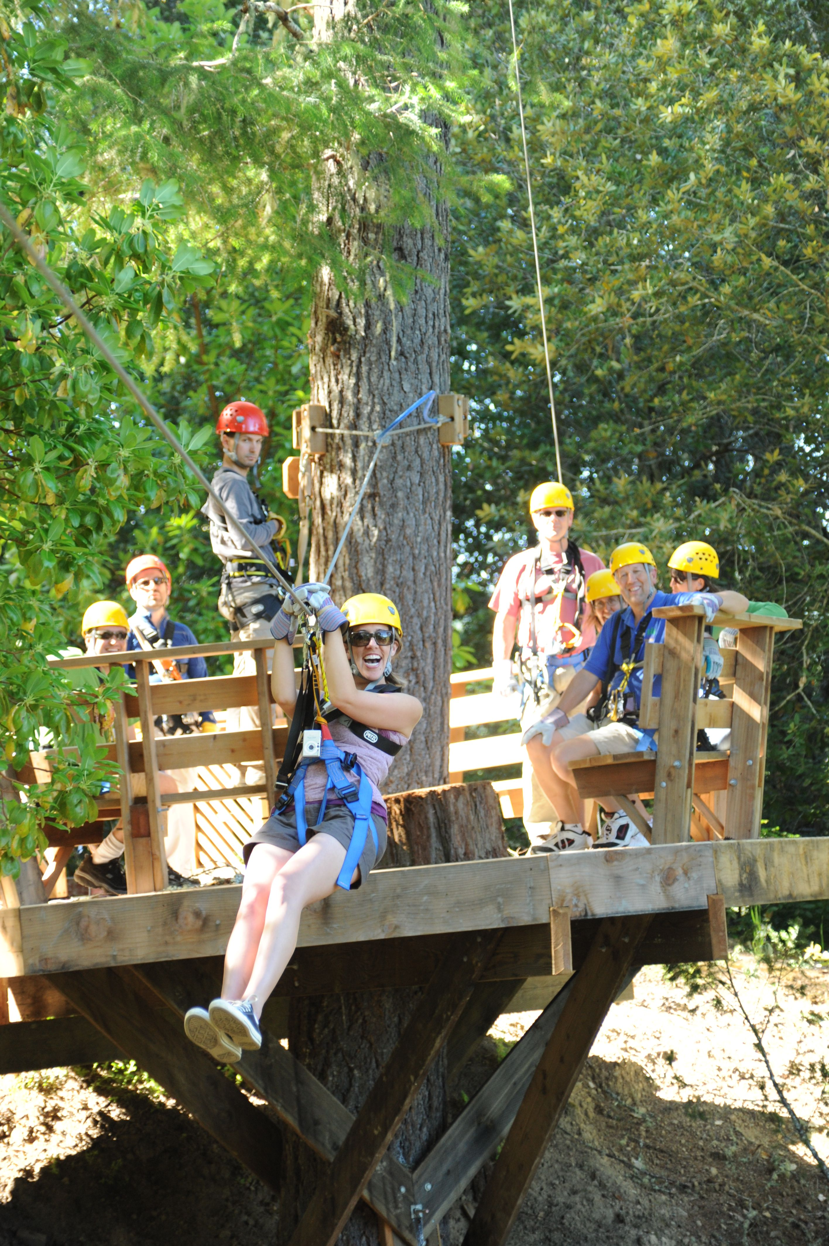 Sonoma Canopy Tours is a great teambuilding activity! & Sonoma Canopy Tours is a great teambuilding activity! | Sonoma ...