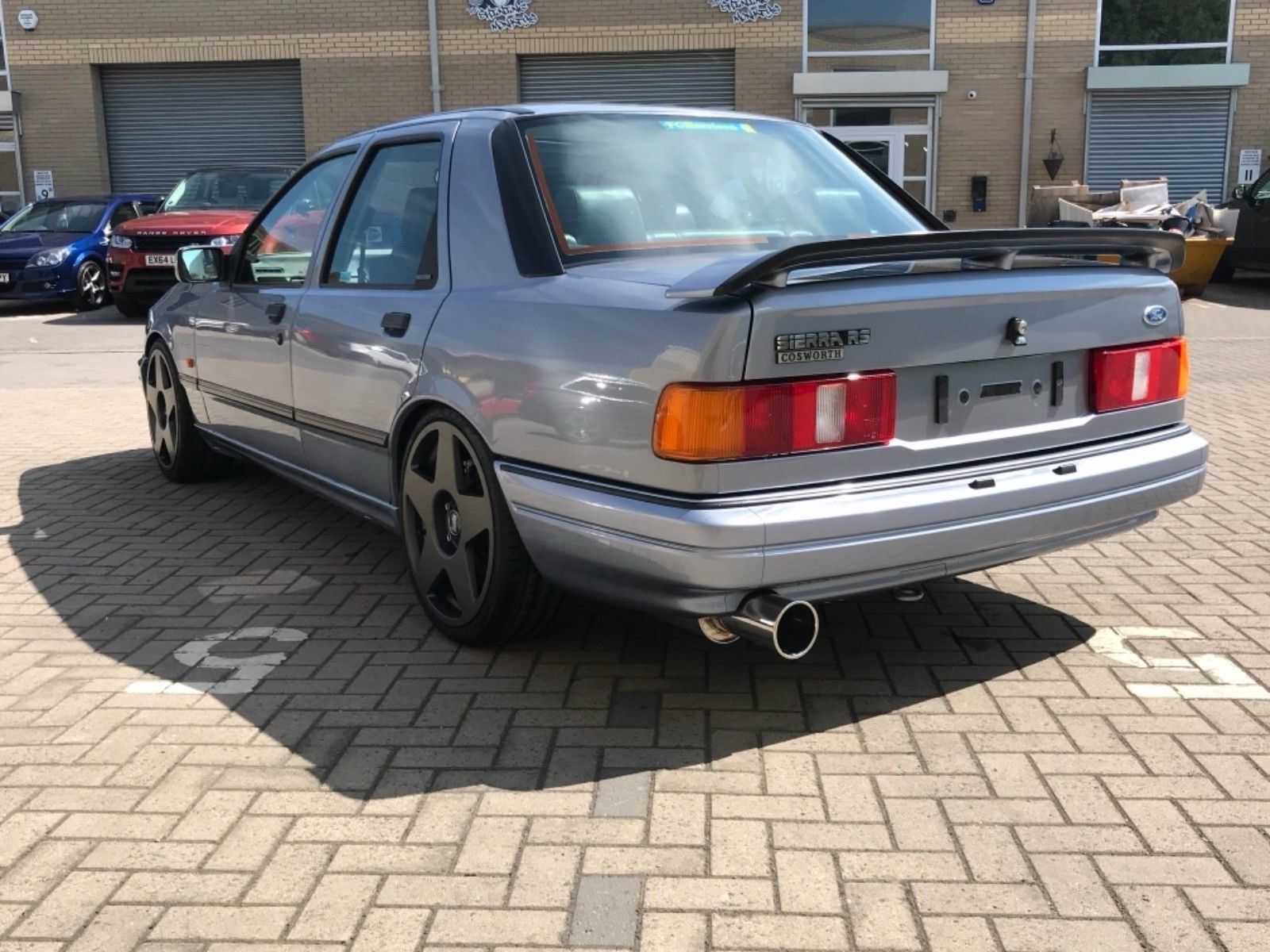 Ford Sierra Rs Cosworth Concourse Low Mileage Ford Sierra Classic Cars British Ford