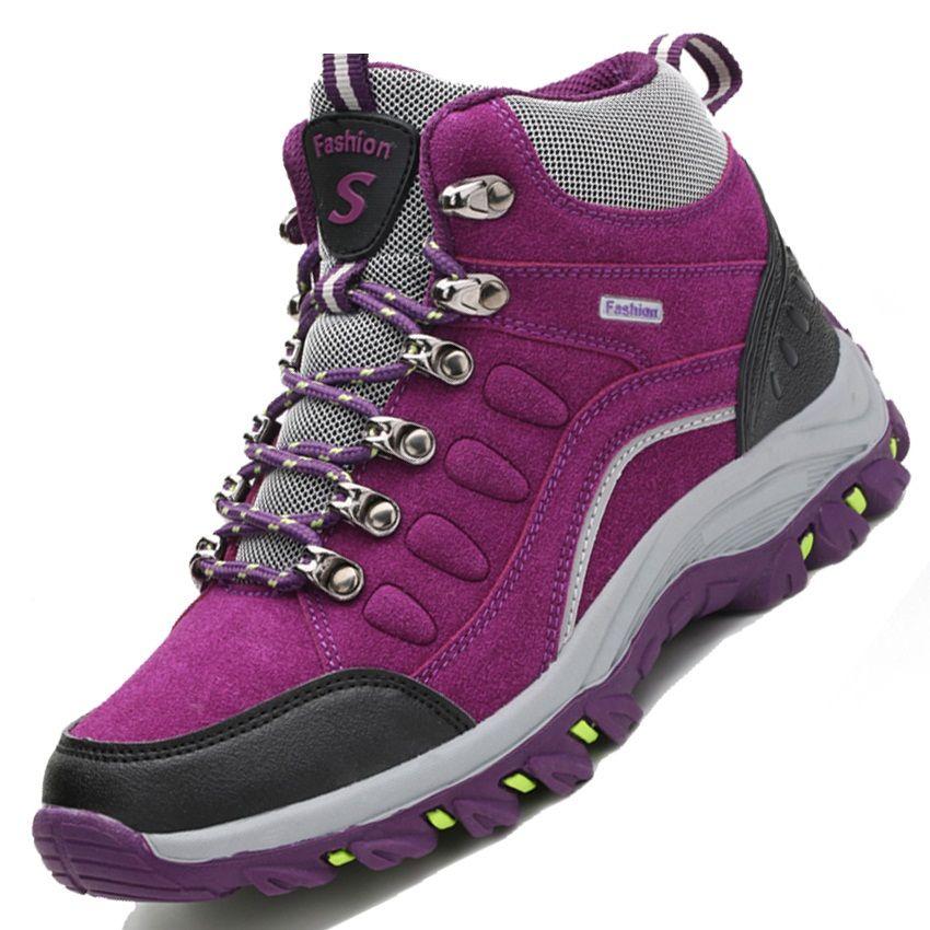 meet 6e467 91e1e Encontrar Más Zapatos para caminar Información acerca de winter high top  hiking…