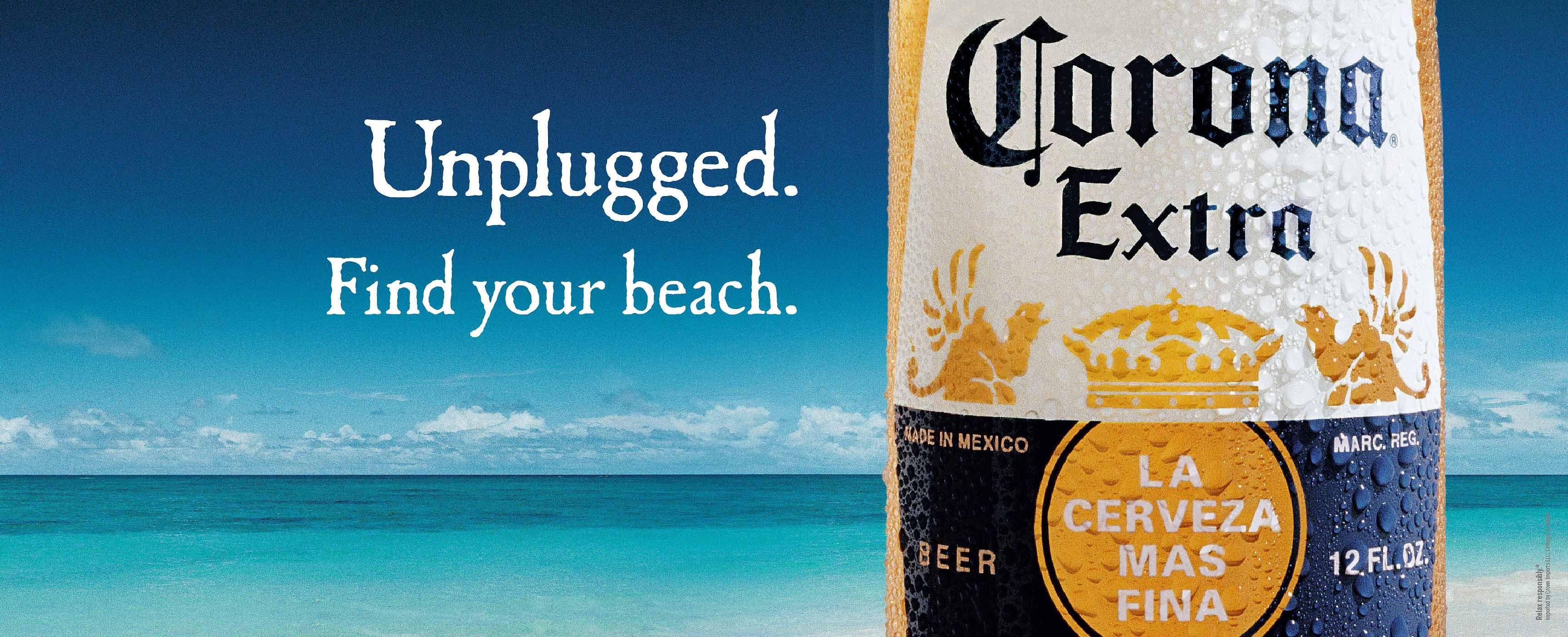 Corona Beach Wallpaper: Keep Calm & Drink Corona