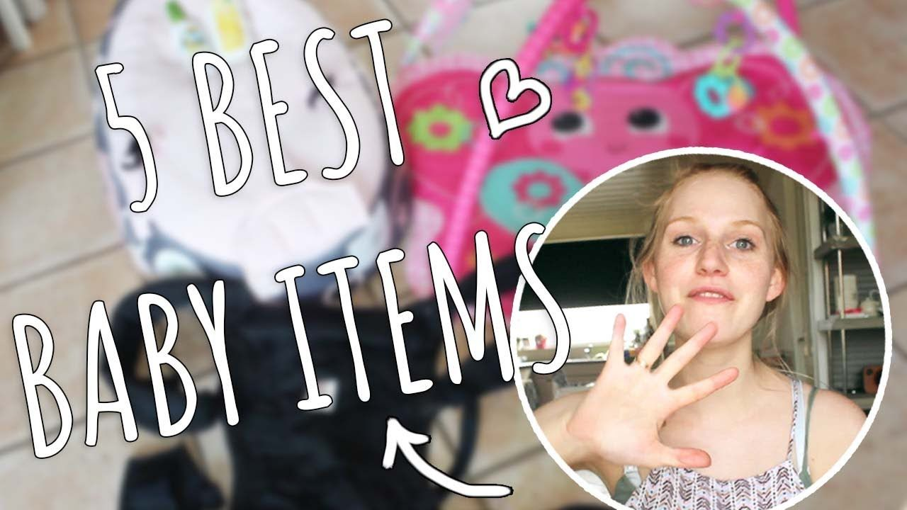 MY 5 FAVOURITE BABY ITEMS!