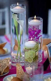 Swietne Pomysly Na Stylowi Pl Glass Vase Decor Floating Candle Centerpieces Candle Centerpieces