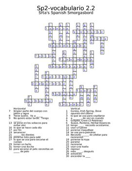 Of Mice And Men Chapter 3 Worksheet Pdf Spanish Avancemos  Vocab  Crossword  Spanish Textbook And  Parts Of Speech Worksheets Grade 4 with Multiplying By 4 Worksheet Pdf Spanish Avancemos  Vocab  Crossword Earth Day Math Worksheets Pdf